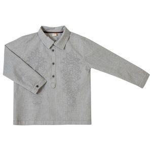 Camisa-Sentido-Ml-B-Cinza-Infantil-Green-
