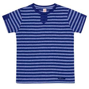 Camiseta-Feliz-B-Azul-Infantil-Green-
