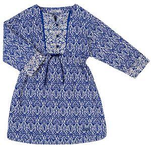 Vestido-Graciosa-Ml-G-Azul-Infantil-Green
