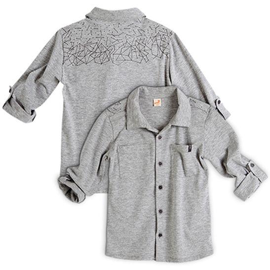 Camisa-Decolagem-Manga-Longa-Cinza-Claro---Infantil-