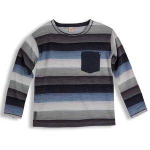 Camiseta-Nave-Manga-Longa-Cinza