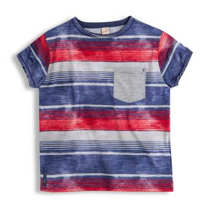 Camiseta-Nave-Manga-Curta-Azul-