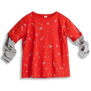 Camiseta-Universo-Manga-Longa-Laranja-