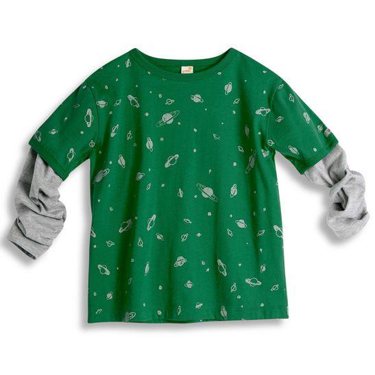 Camiseta-Universo-Manga-Longa-Verde