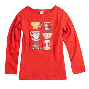 Camiseta-Cha-da-Tarde-Laranja---Infantil-