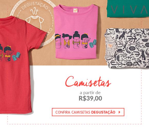 Banner Degustação Camisetas