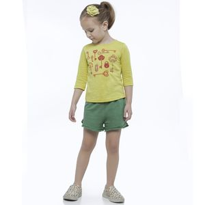 Shorts-Menina-Green-by-Missako