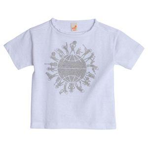 Camiseta-Infantil-Menino-Branca-Doar-Green-by-Missako