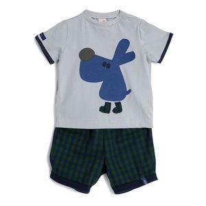 Conjunto-Camiseta-e-Shorts-Bebe-Menino-Green-by-Missako