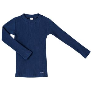 Blusa-Plissado-Careca-G-Azul-Escuro-Infantil-Green