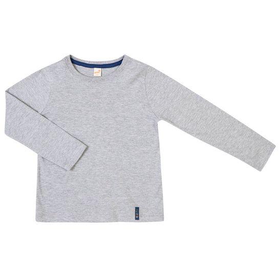 Camiseta-Basica-Ml-B-Cinza-Claro-Infantil-Green