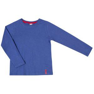 Camiseta-Basica-Ml-B-Azul-Infantil-Green