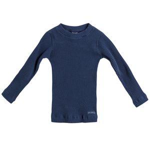 Blusa-Plissado-Gola-Careca-Azul-Escuro---Toddler