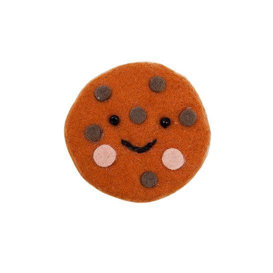 Broche-Cookie-Marrom-Claro---Menina--