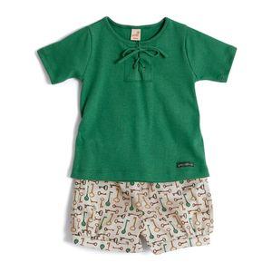 Conjunto-para-Menina-Green-by-Missako