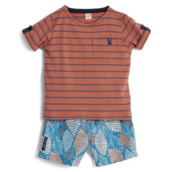 Conjunto-Camiseta-Manga-Curta-e-Bermuda-Toddler-Menino-Green-by-Missako