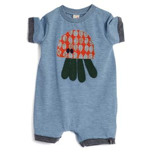 Macacao-curto-bebe-menino-green-by-missako-
