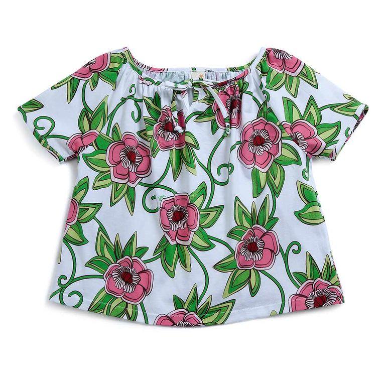 dc53915ae3ea2d Blusa Florescer Rosa - Infantil