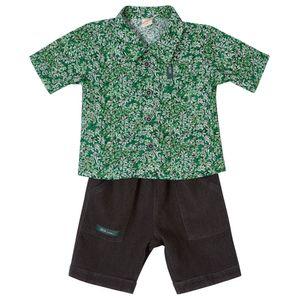 Conjunto-Bebe-Menino-Camisa-e-Bermuda-Green-by-Missako