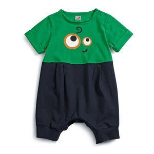 Macacao-feliz-Verde-Bebe-Menino-Green--by-Missako