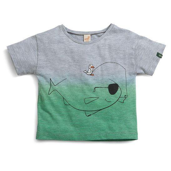 Camiseta-Toddler-Menino-Animada-Cinza-Claro--Green-by-Missako
