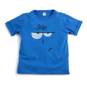 Camiseta-Seja-Voce-Mesmo-Toddler-Menino-Azul--Green-by-Missako