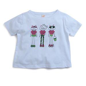 Camiseta-Infantil-Menina-Green-by-Missako