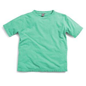 Camiseta-Manga-Curta-Lisa-Infantil--Menino-Verde-Claro-Green-by-Missako