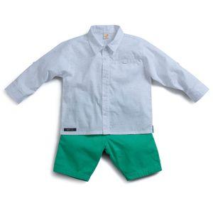 Conjunto-Camisa-e-Bermuda--Toddler-Menino-Green-by-Missako-