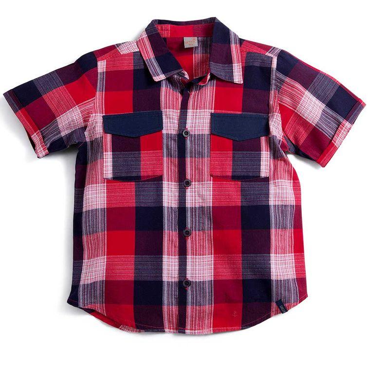 Camisa Xadrez Refresco Vermelha Green - Infantil Menino - Loja Green ba4b13e7c7bbf