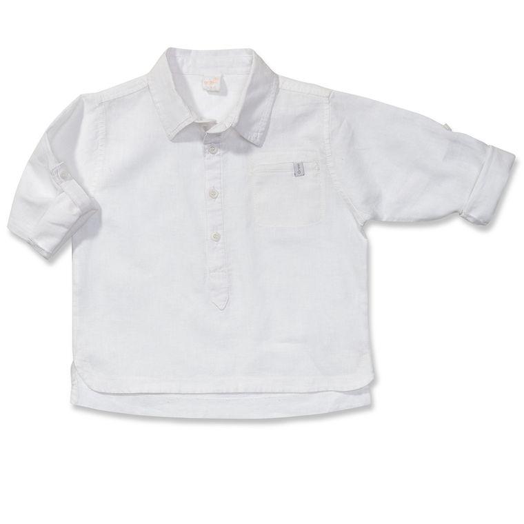 Camisa Manga Longa Luminária Branca Green - Toddler Menino - Loja Green 8a12641c64a28