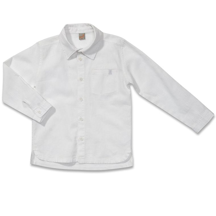 Camisa Manga Longa Luminária Branca - Infantil Menino - Loja Green cb8b92e1c8ef3