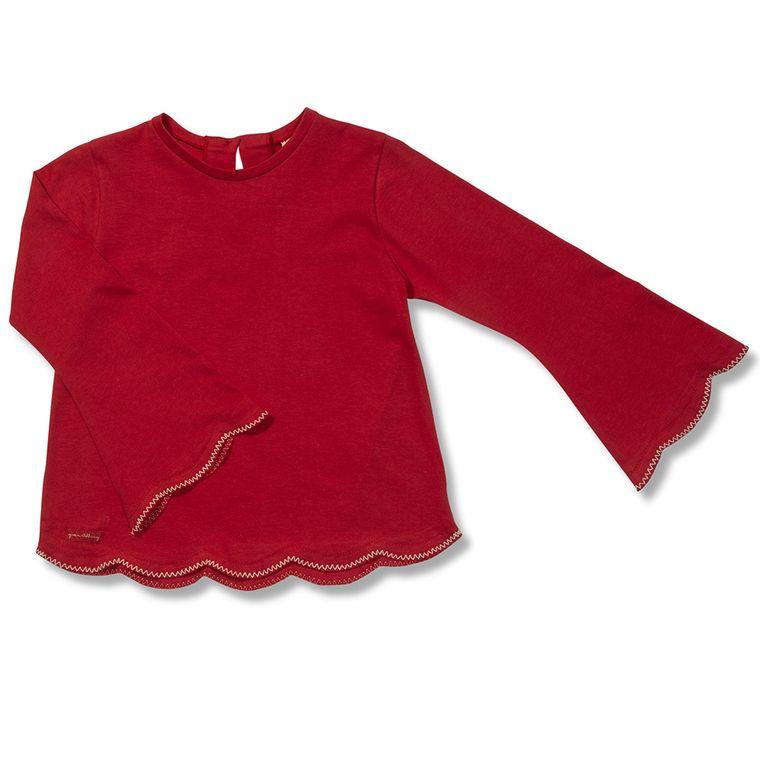 c68577dd42 Camiseta Manga Longa Apache Vermelha Green - Infantil Menina - Loja ...