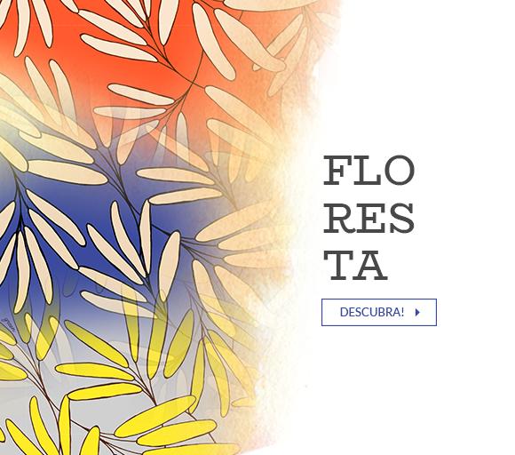 Mosaico - ESTAMPA FLORESTA
