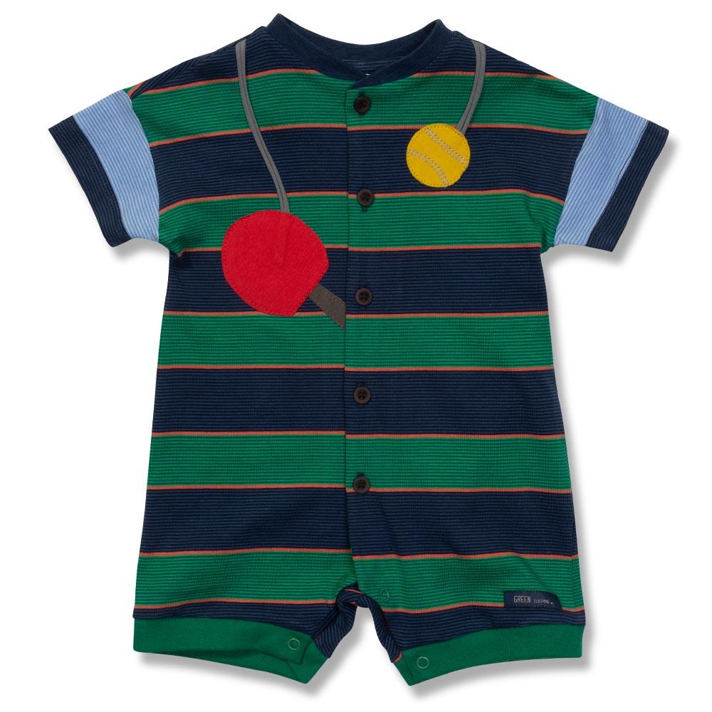 ea0d121a85 Macacão Esporte Verde Green - Bebê Menino
