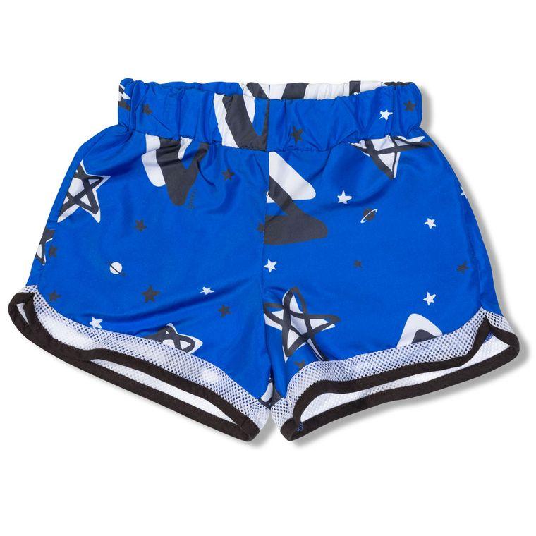 37a91b18a Shorts Leveza Azul Green - Infantil Menina - Loja Green