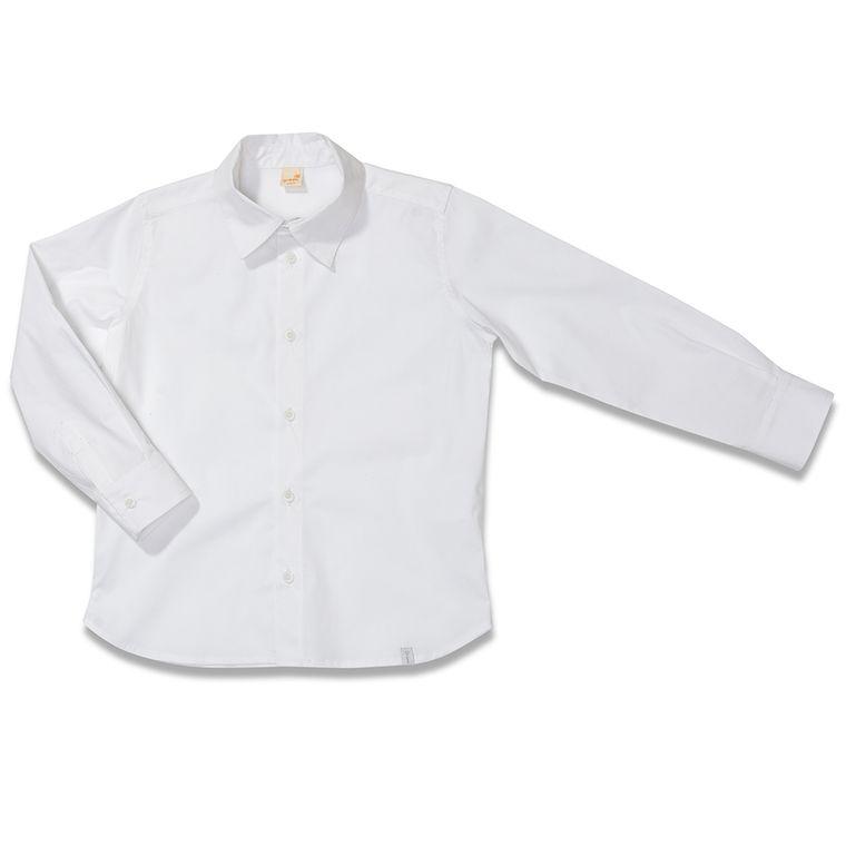 0db8de4b7a Camisa Manga Longa Cidades Branca Green - Infantil Menino - Loja Green