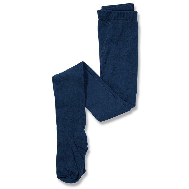 33cdd9e43 Meia Calça Flora Azul Escuro - Infantil Menina - Loja Green