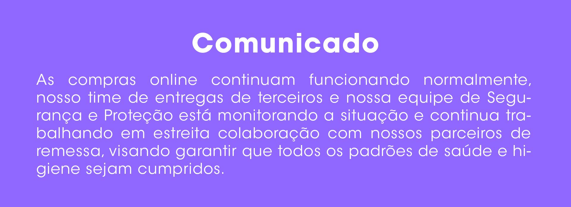 Comunidado CoronaVirus