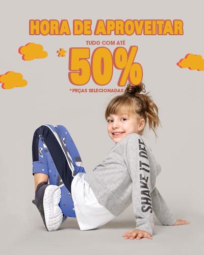 50% - Eh hora de aproveitar - MOBILE