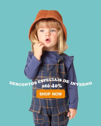 Desconto 40% - Menina Toddler - MOBILE