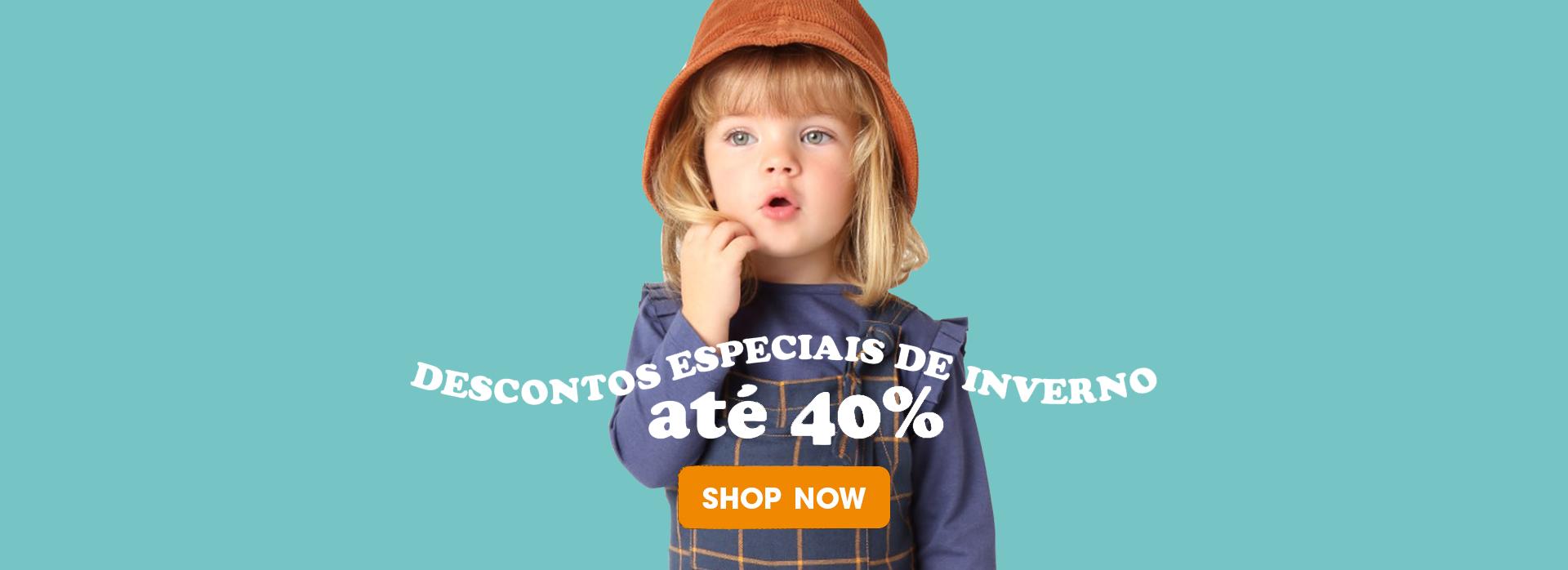 Descontos 40% - Menina Toddler