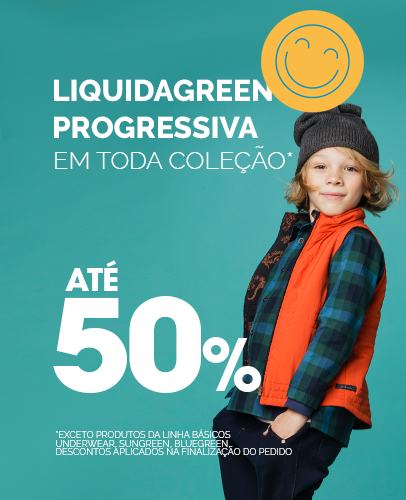 Banner Liquidação Julho - Progressiva Menino - MOBILE