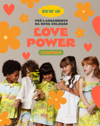Pré-Venda - Love Power