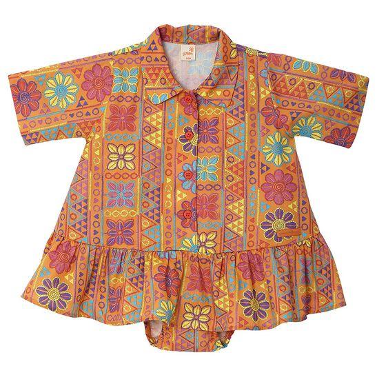roupa-infantil-vestido-menina-laranja-tamanho-infantil-detalhe1-green-by-missako_G6003001-400-1