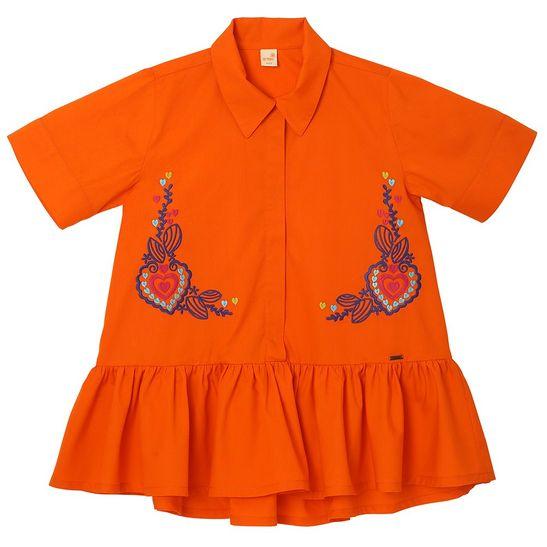 roupa-infantil-vestido-menina-laranja-tamanho-infantil-detalhe1-green-by-missako_G6003474-400-1