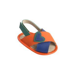 roupa-infantil-sandalia-menina-laranja-tamanho-infantil-detalhe1-green-by-missako_G6012023-400-1