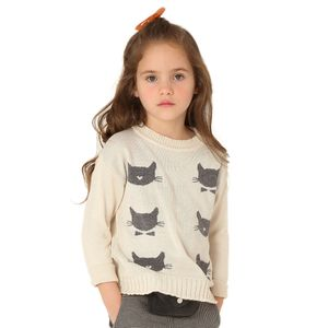 roupa-infantil-blusa-trico-cru-estampada-gatinho-menina-green-by-missako-1