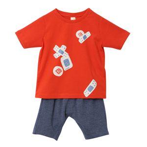 roupa-infantil-conjunto-camiseta-bermuda-vermelho-toddler-menino-green-by-missako-G5904496-100