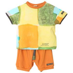roupa-bebe-conjunto-camiseta-bermuda-aquarela-laranja-menino-G6201221-400-1